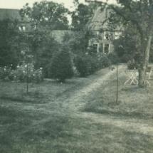 deel Oude pastorietuin 1928